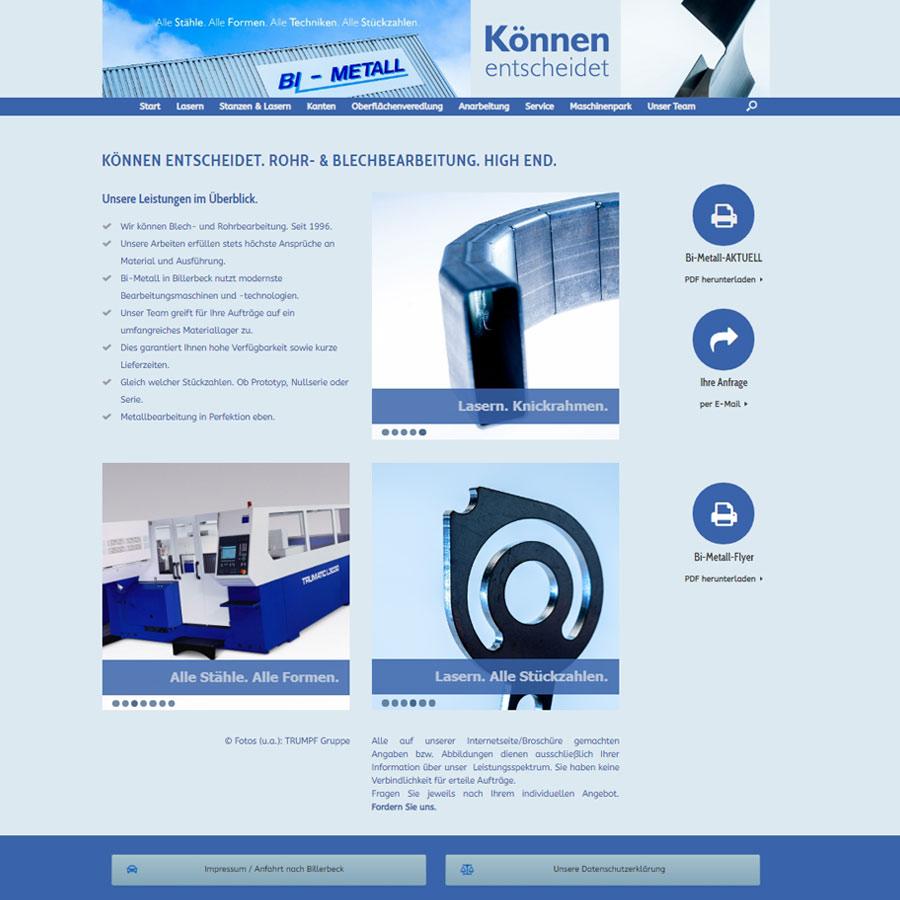 webseite bi-metall