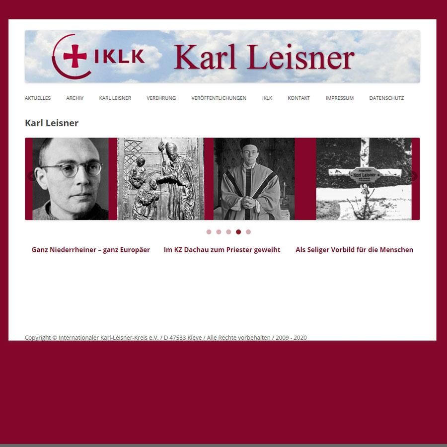 webseite karl leisner
