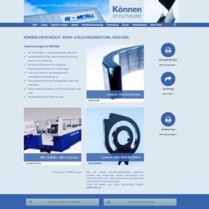 Webseite Bi-Metall Billerbeck